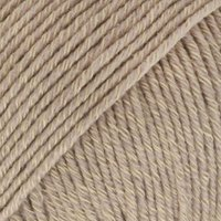 DROPS Cotton Merino Uni Colour garn - 50 g - Beige (03)