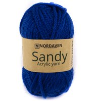 Nordaven Akrylgarn Sandy - True Blue (601)
