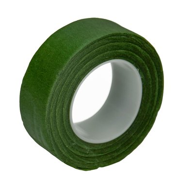 Crepe tape 25,4 mm - grøn 28 m